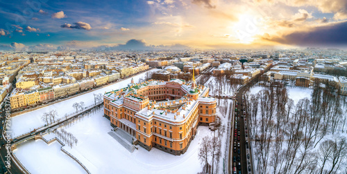 Montage in der Fensternische Dunkelgrau Saint Petersburg. Panorama of St. Petersburg. Engineering lock. Petersburg in the winter. Russia. Russian cities in winter. Streets of Petersburg. Field of Mars. City center.