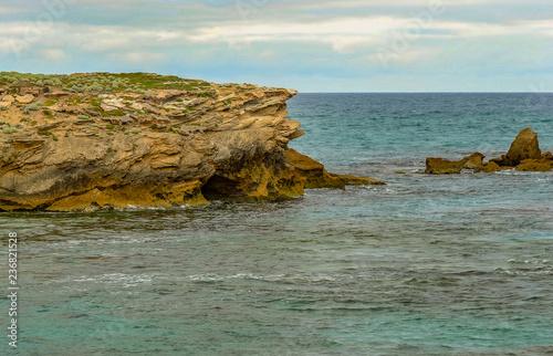 Foto op Aluminium Oceanië The sharp rocks