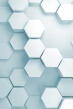 Random Extruded Hexagon Patter...
