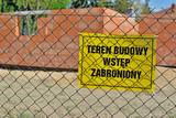 Fototapeta Miasto - Building a house.