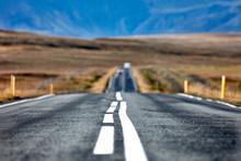 Scenic Road Around Iceland