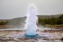 Strokkur Geyser, Iceland's Golden Ring
