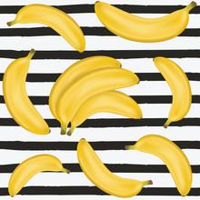 Banana Seamless Pattern. Cute ...