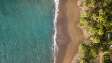 Tropical Paradise Beach In Costa Rica