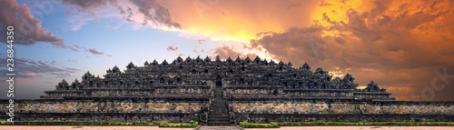 Printed kitchen splashbacks Place of worship Borobudur