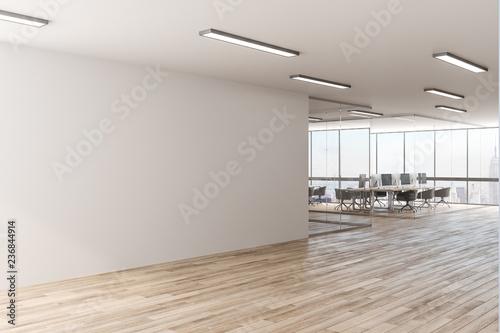 Obraz Modern office with copyspace - fototapety do salonu