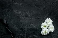 Funeral Symbols. White Flower ...