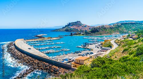Photo  Panoramic view of Castelsardo, Province of Sassari, Sardinia, Italy