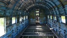 Inside Of Wreck Of Douglas C-4...