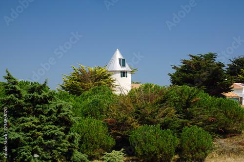 Fotografía  moulin à vent de l'île de Noirmoutier