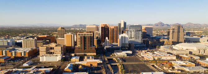 Aerial View Phoenix State Capital City of Arizona Downtown City Skyline