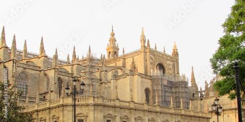 Fotografie, Obraz  Cattedrale a Siviglia in Spagna