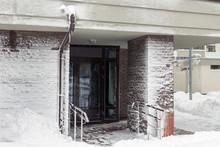 Entrance Of Modern High-rise A...