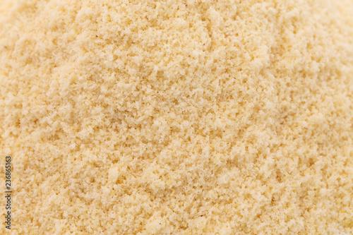 Fototapeta A Background of Ground Blanched Almond Flour obraz