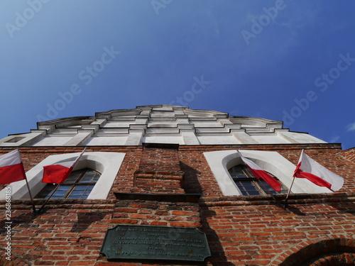 Plakat Fasada ratusza pruskiej Holandii