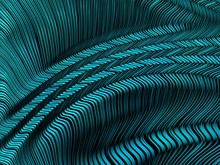 Abstract Textured Turquoise Fr...
