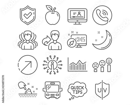 Set Of Money Diagram Skin Moisture And Uv Protection Icons Online