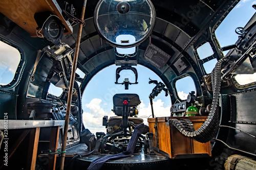 Fototapeta B-17 Cockpit bomber