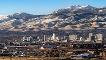 City Of Reno Nevada, Cityscape...