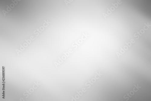 Fototapeta white gray background / soft grey gradient abstract background obraz na płótnie