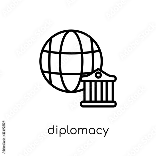 Fotografía  diplomacy icon