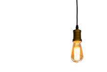 Vintage Light Bulb Hanging Iso...