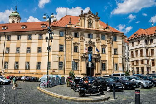 Spoed Foto op Canvas Centraal Europa Prag, Marienplatz