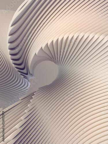 Okleiny na drzwi - przestrzenne 3D  white-stripe-pattern-futuristic-background-3d-render-illustration
