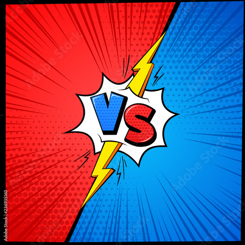 Vs Cartoon Background Versus Letters Comic Book Frame With Halftone Battle Competition Mma Fighting Challenge Buy This Stock Vector And Explore Similar Vectors At Adobe Stock Adobe Stock