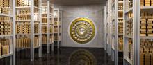 Gold Ingot In Vault