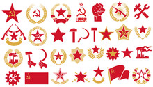 Communism And Socialism Vector...
