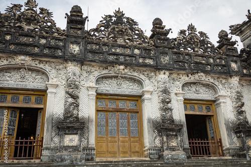Papiers peints Con. ancienne Imperial Khai Dinh Tomb in Hue, Vietnam. A UNESCO World Heritage Site.