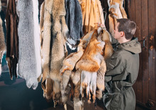 A Young Man Hangs Up The Fur A...