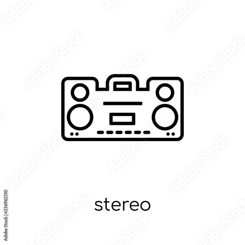 Fotografía  stereo icon from Electronic devices collection.