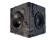 Sci-fi, High Tech, 3D Speaker