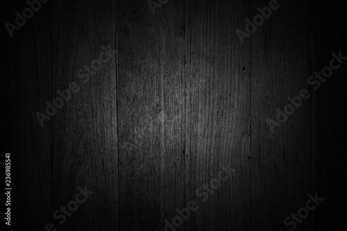 Türaufkleber Holz black wooden background texture