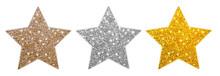 Bronze Silber Gold Sterne