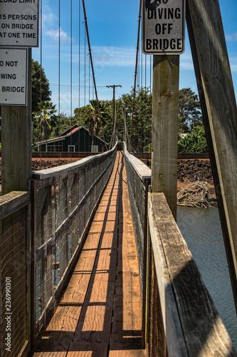 Hanapepe Swinging Bridge Kauai Hawaii Buy This Stock