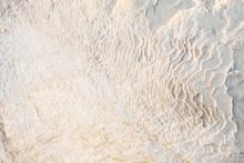 White Wavy Stone Texture