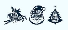 Merry Christmas, Label Set. Xm...