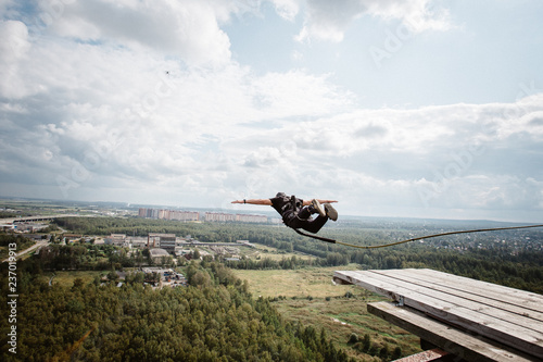 rope-jumping is an extreme sport for everyone