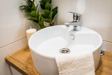 łazienka home staging umywalka