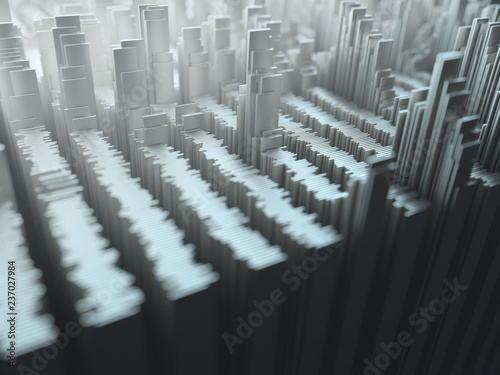 3d Abstract Image Of Geometric Shapes Abstract Background