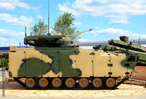 Fotografía  Russian new generation infantry fighting vehicle