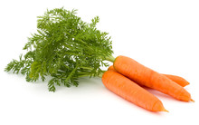 Carrot Vegetable With Leaves I...