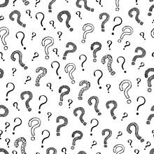 Question Mark Seamless Pattern...