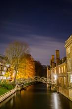 The Mathematical Bridge By Night