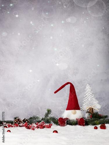 Staande foto Hoogte schaal Weihnachtshintergrund