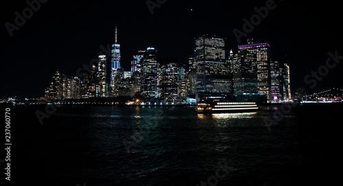 Deurstickers New York City Manhattan
