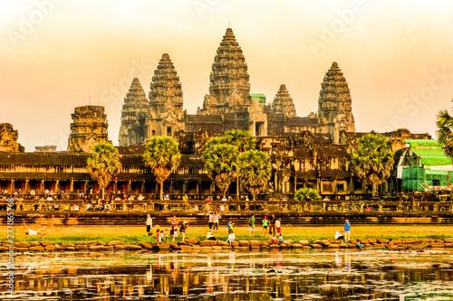 Plakat Kambodża